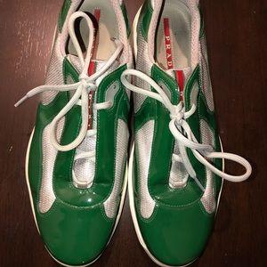 Prada sneakers size 13